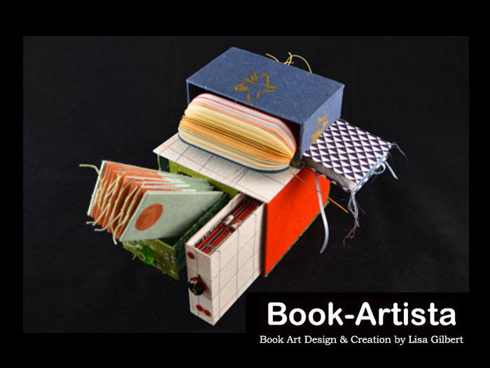 Lisa Gilbert, Handmade Book Artist located in Pittbsboro NC