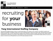 Yang International Staffing Company
