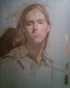 1-day portrait by Julie Dyer Holmes, fine artist in training at Studio Incamminati Philadelphia PA