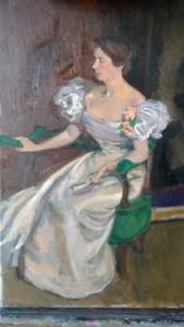 Julie Holmes' Master Copy of Mrs Clement Newbold by Cecilia Beaux