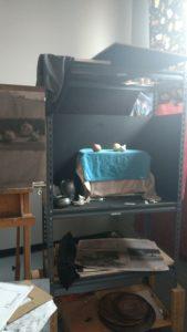 Still life set up in north light studio of Julie Dyer Holmes Philadelphia PA
